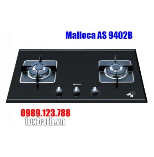 Bếp Gas Malloca AS 9402B Mặt Kính 2 Vùng Nấu