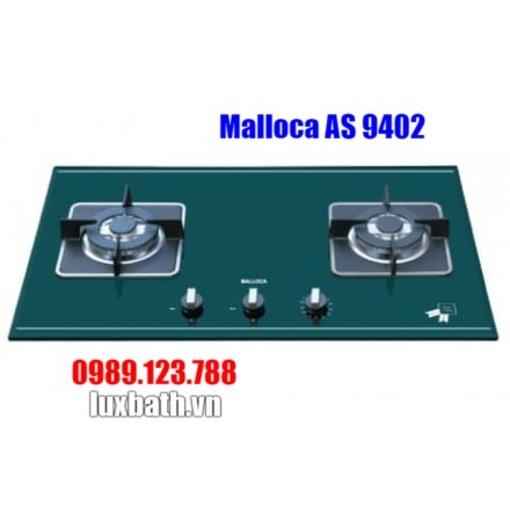 Bếp Gas Malloca AS 9402G Mặt Kính 2 Bếp