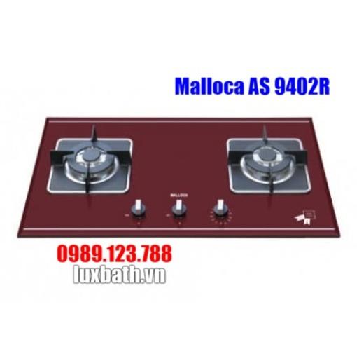 Bếp Gas Malloca AS 9402R Mặt Kính 2 Bếp