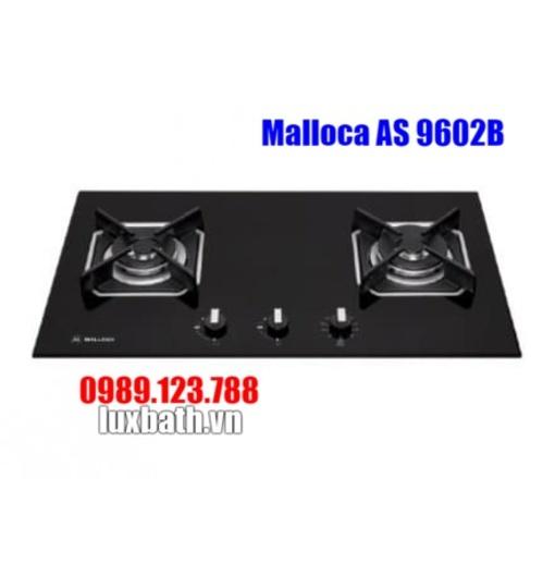 Bếp Ga Malloca AS 9602B Mặt Kính 2 Vùng Nấu