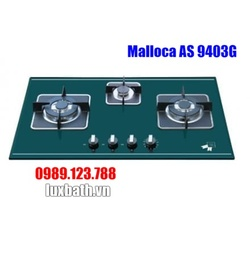 Bếp Gas Malloca AS 9403G Mặt Kính 3 Bếp