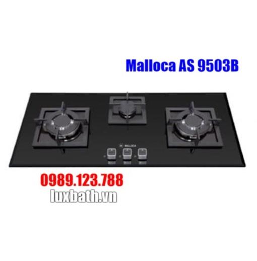Bếp Gas Malloca AS 9503B Mặt Kính 3 Bếp