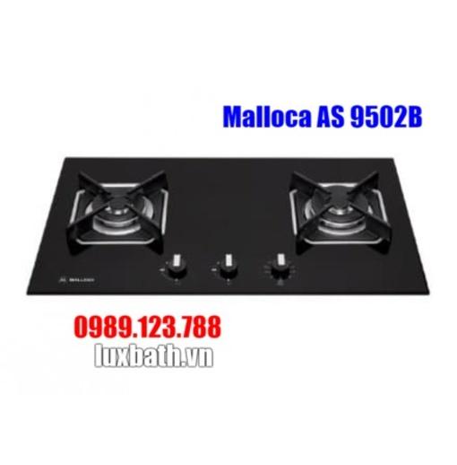 Bếp Gas Malloca AS 9502B Mặt Kính 2 Bếp