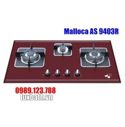 Bếp Gas Malloca AS 9403R Mặt Kính 3 Bếp