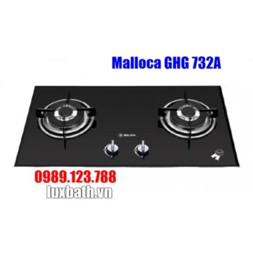 Bếp Gas Malloca GHG 732A NEW Mặt Kính 2 Bếp