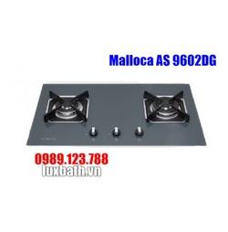 Bếp Gas Malloca AS 9602DG Mặt Kính 2 Bếp