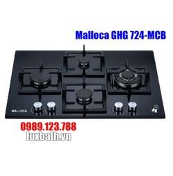 Bếp Gas Malloca GHG 724-MCB Mặt Kính 4 Bếp