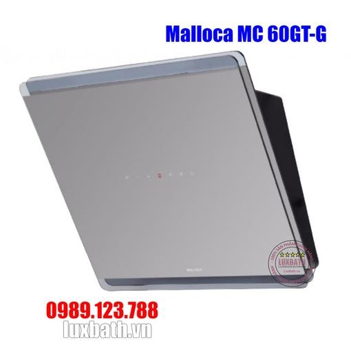 Máy Hút Khói Khử Mùi Malloca MC 60GT-G Áp Tường Nghiêng