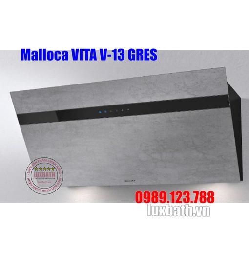 Máy Hút Khói Khử Mùi Malloca VITA V-13 GRES Áp Tường Nghiêng