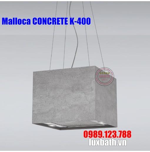 Máy Hút Khói Khử Mùi Malloca CONCRETE K-400 Đảo
