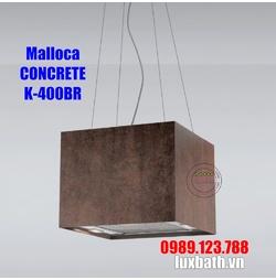 Máy Hút Khói Khử Mùi Malloca CONCRETE K-400BR Đảo