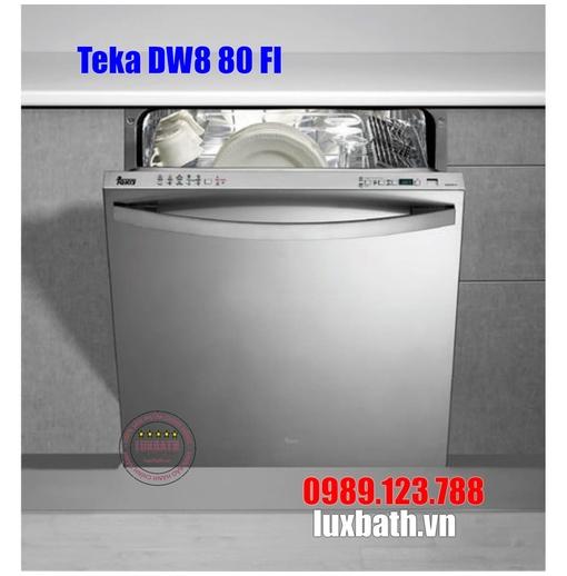 Máy Rửa Chén Teka DW8 80 FI 40716240 Âm Toàn Phần