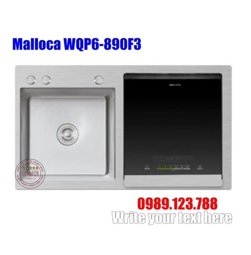 Máy Rửa Chén Tích Hợp Malloca WQP6-890F3
