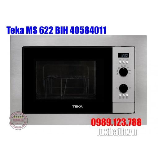 Lò Vi Sóng Teka MS 622 BIH 40584011 Kết Hợp Nướng