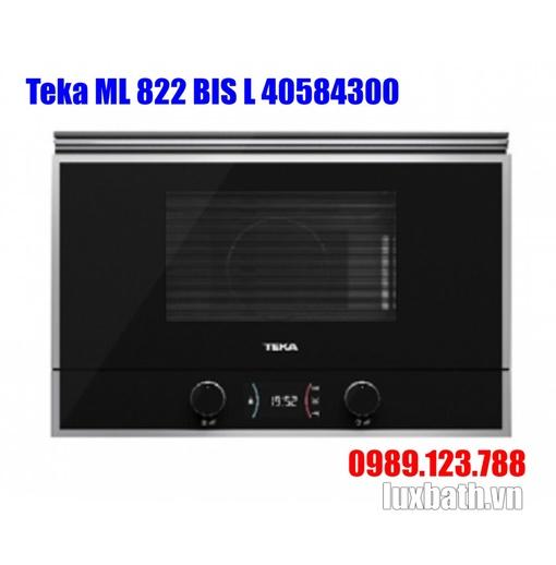 Lò Vi Sóng Teka ML 822 BIS L 40584300 Kết Hợp Nướng