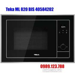 Lò Vi Sóng Teka ML 820 BIS 40584202 Kết Hợp Nướng
