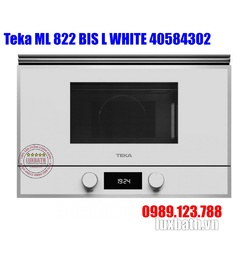 Lò Vi Sóng Teka ML 822 BIS L WHITE 40584302 Kết Hợp Nướng