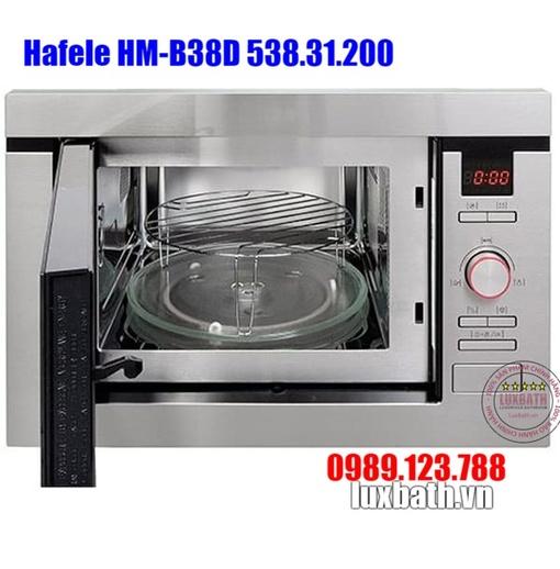 Lò Vi Sóng Kết Hợp Nướng Hafele HM-B38D 538.31.200 Lắp Âm