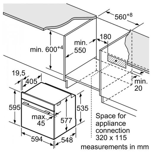 Lò Nướng Bosch HMH.HNG6764S1A Kết Hợp Hấp - Vi Sóng