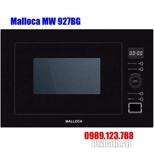 Lò Vi Sóng Malloca MW 927BG Kính Đen Âm Tủ