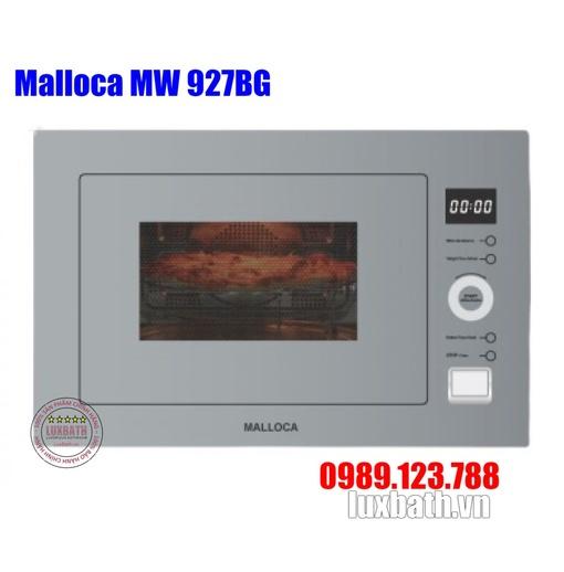 Lò Vi Sóng Malloca MW 927BG Kính Xám Âm Tủ