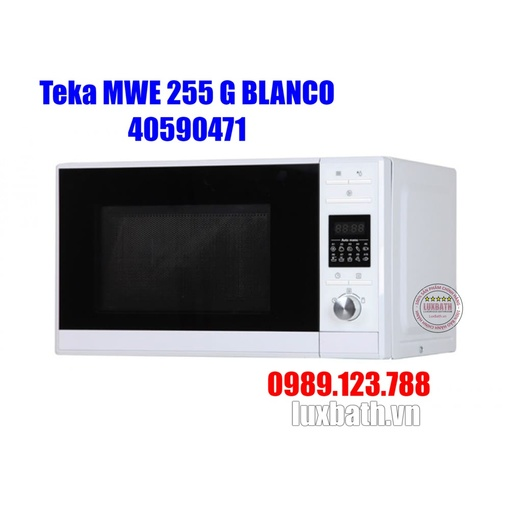 Lò Vi Sóng Teka MWE 255 G BLANCO 40590471 Kết Hợp Nướng