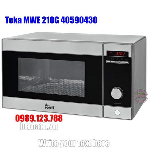 Lò Vi Sóng Teka MWE 210G 40590430 Kết Hợp Nướng Độc Lập