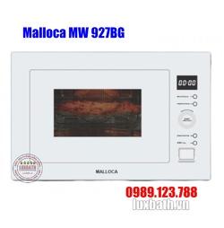 Lò Vi Sóng Malloca MW 927BG Kính Trắng Âm Tủ
