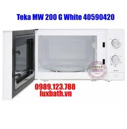 Lò Vi Sóng Teka MW 200 G White 40590420 Kết Hợp Nướng