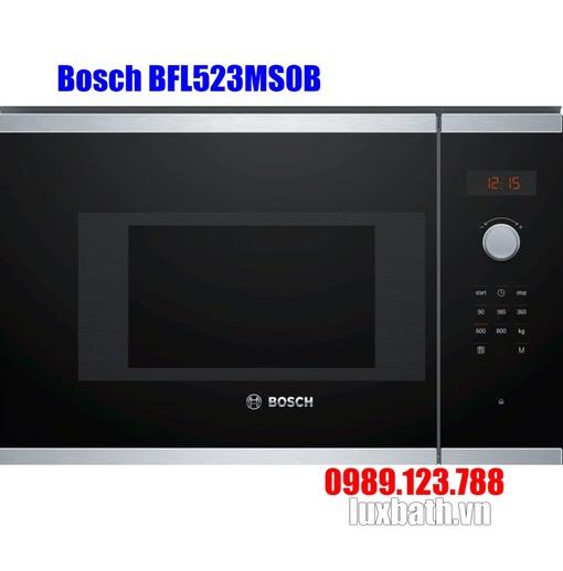 Lò Vi Sóng Bosch BFL523MS0B 20 Lít