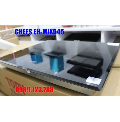 BẾP ĐIỆN TỪ CHEFS EH-MIX545 3 Vùng Nấu