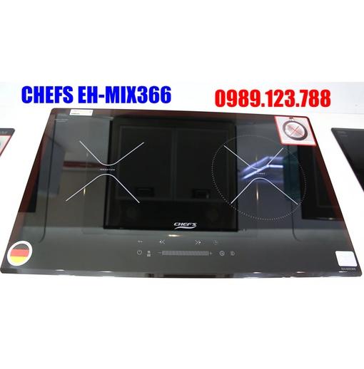 BẾP ĐIỆN TỪ ĐÔI CHEFS EH-MIX366 NEW