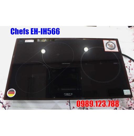 Bếp từ Chefs EH-IH566 3 Vùng Nấu