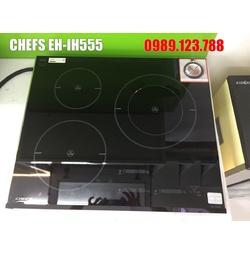 BẾP TỪ CHEFS EH-IH555 3 Vùng Nấu