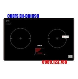 BẾP TỪ ĐÔI CHEFS EH-DIH890 2 Vùng Nấu