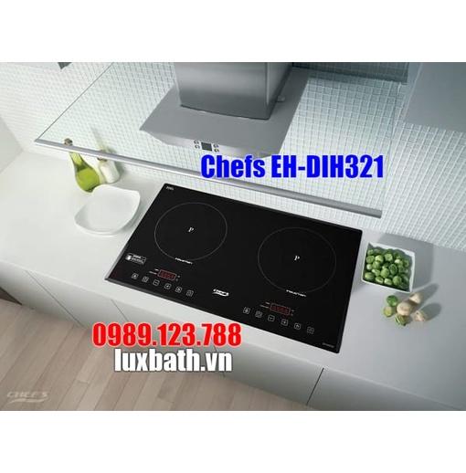Bếp từ đôi Chefs EH-DIH321