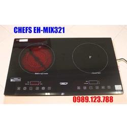 BẾP ĐIỆN TỪ ĐÔI CHEFS EH-MIX321