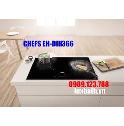 BẾP TỪ ĐÔI CHEFS EH-DIH366 NEW