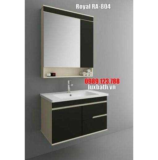 Tủ chậu nâu cà phê Royal RA-804