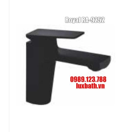 Vòi chậu lavabo 1 lỗ đen Royal RA-9252