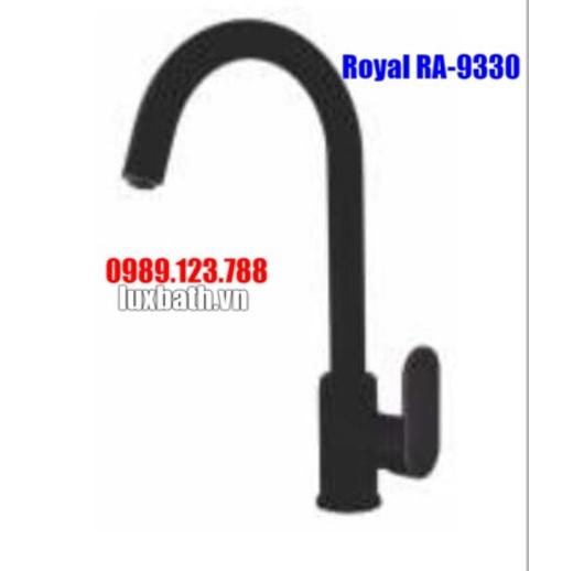 Vòi Rửa Bát Nóng Lạnh Đen Royal Join RA-9330