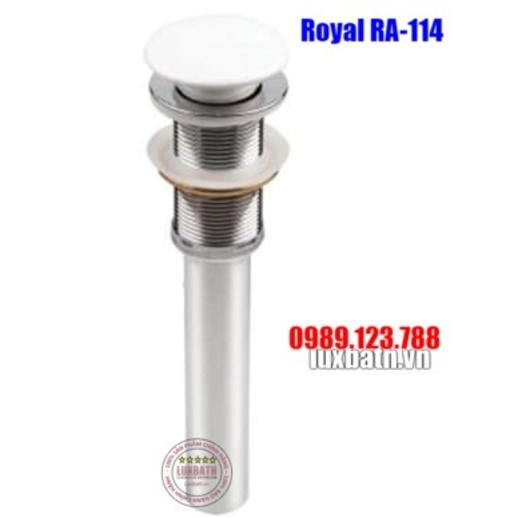 Xi phông chậu kính sứ Royal RA-114