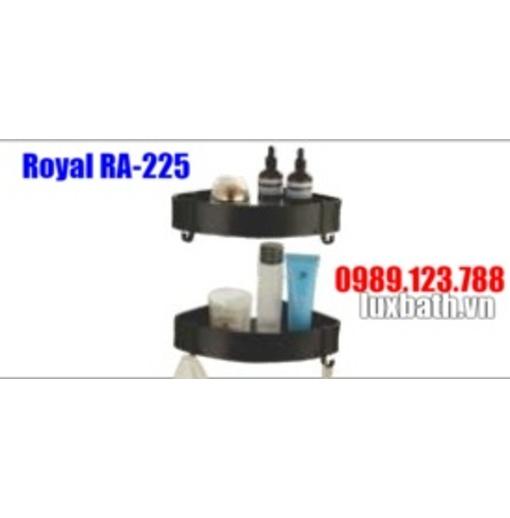 Kệ góc đen Royal RA-225