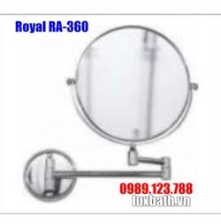 Gương gắn tường hai mặt Royal RA-360