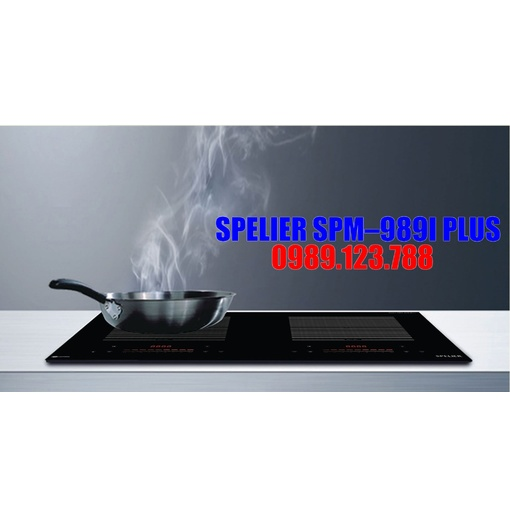 BẾP TỪ ĐÔI SPELIER SPM–989I PLUS