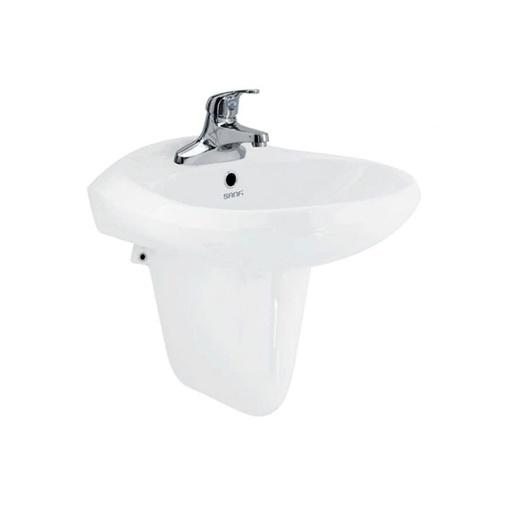 Chậu rửa mặt treo tường Viglacera Chậu Sanfi S506