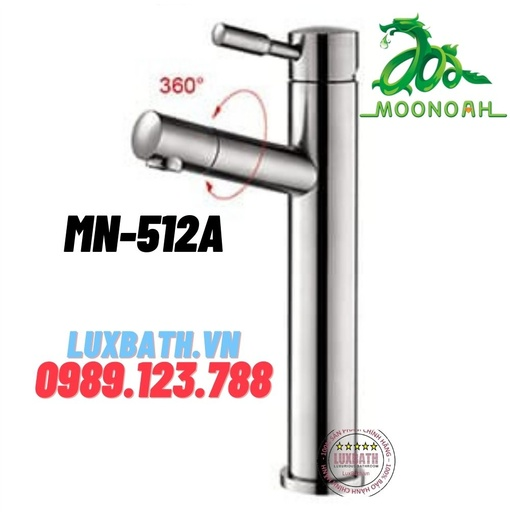 Vòi chậu inox SUS 304 Moonoah MN-512A