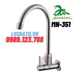 Vòi inox SUS 304 Moonoah MN-351 (nước lạnh)