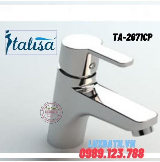 Vòi chậu rửa mặt ITALISA Ta-2671CP