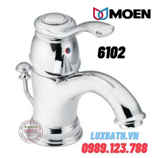 Vòi chậu lavabo nóng lạnh Moen 6102